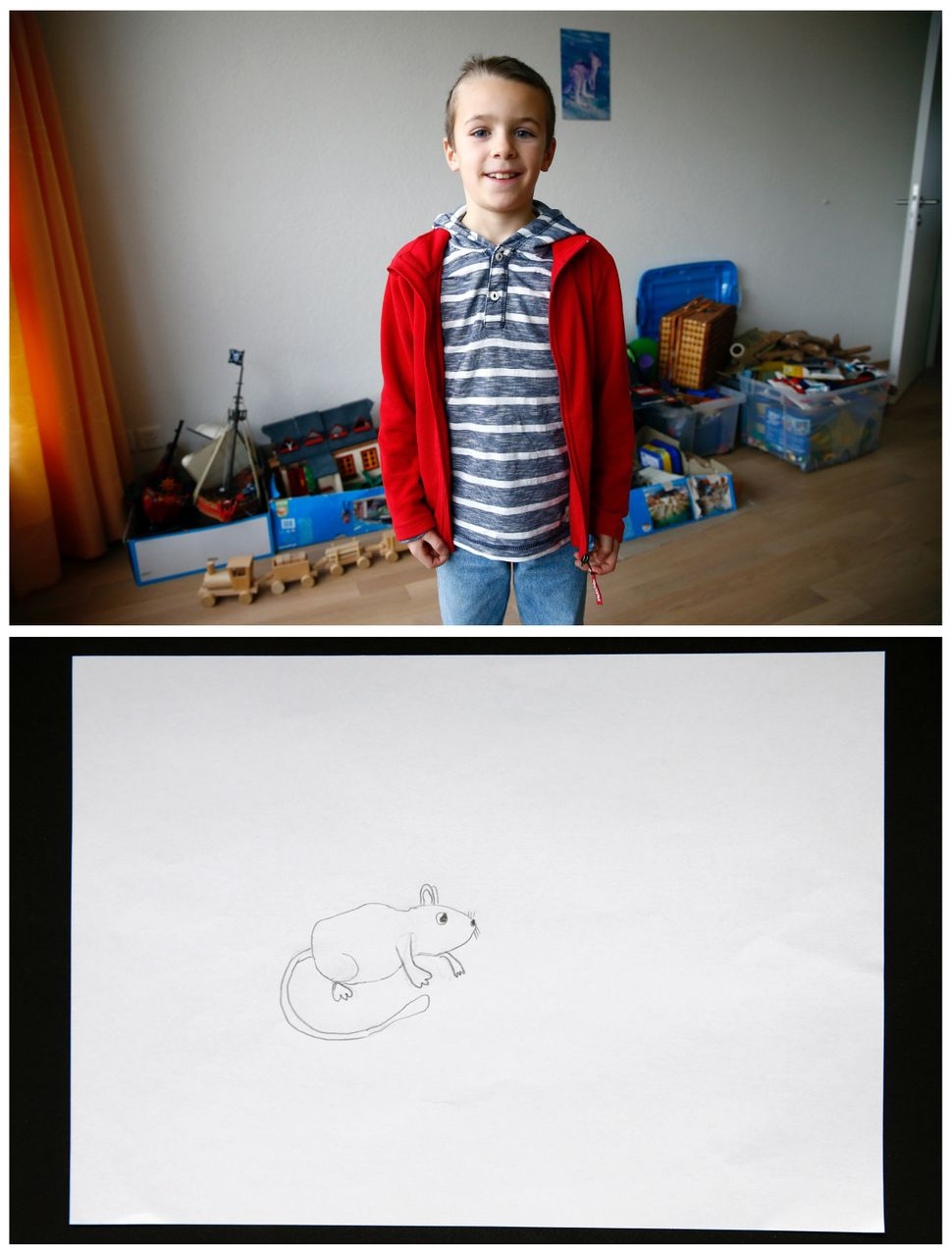 <strong>Olivier Bommeli, 8, from Bern, Switzerland:</strong> Olivier said he wants a jerboa.