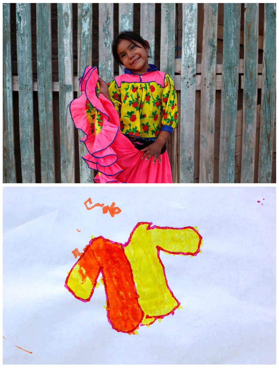 <strong>Alicia, 4, from Ciudad Juarez, Mexico:</strong> Alicia wants a winter jacket and clothes for her cousins.