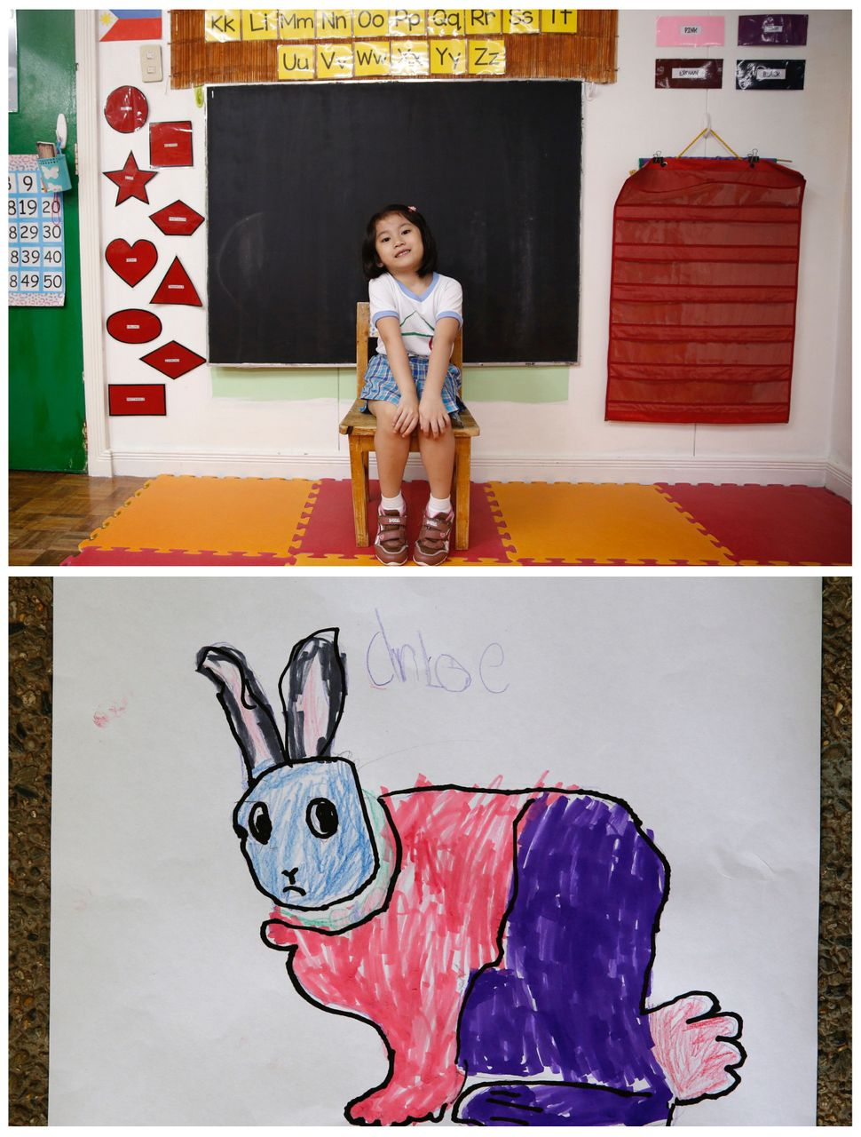 <strong>Jaedene Alyzxandra Medina, 5, from Las Pinas, Philippines:</strong> Jaedene wants a pet bunny because her mom won't a