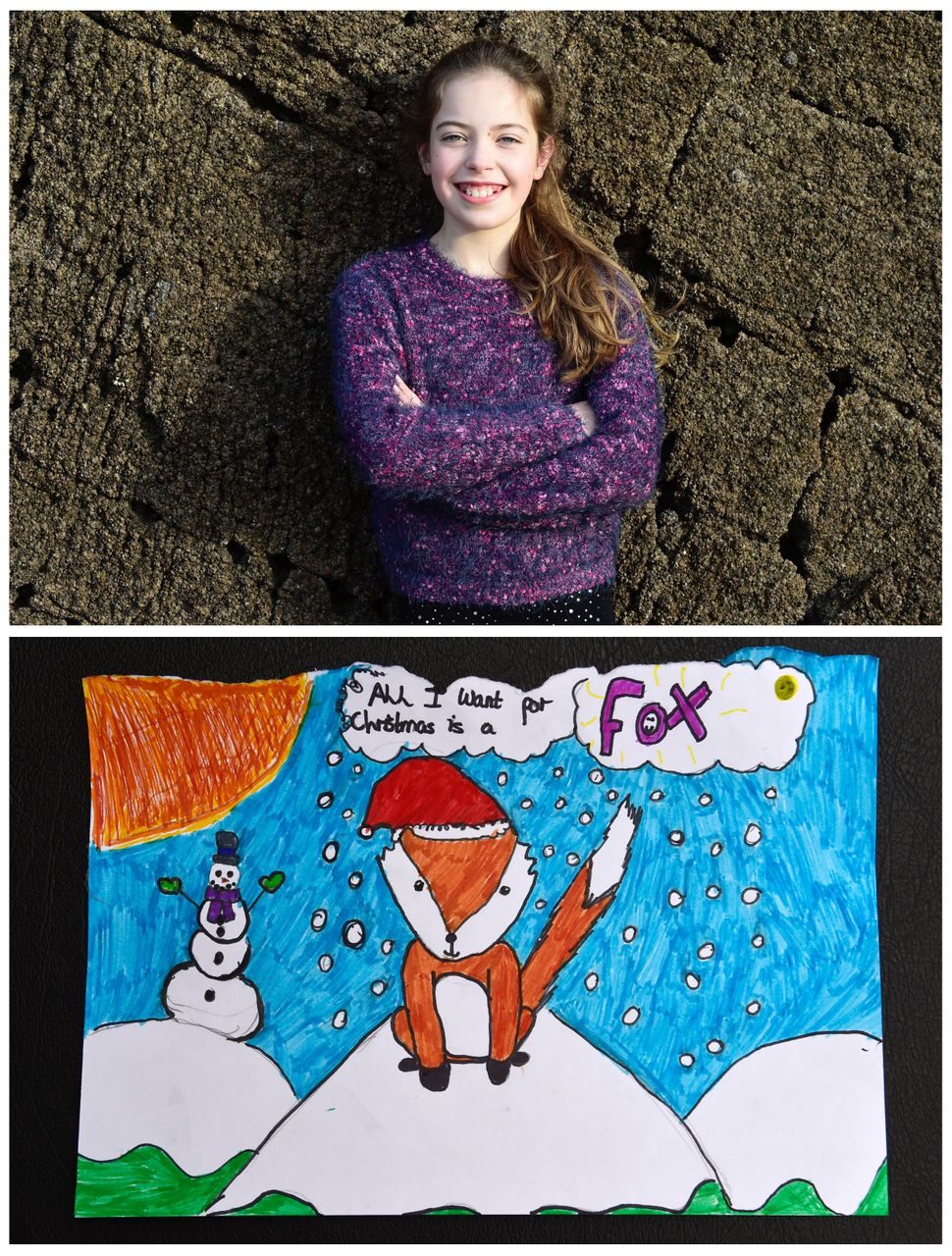 <strong>Georgie Kidd, 10, from Tenby, Wales:</strong> Georgie wants a fox.