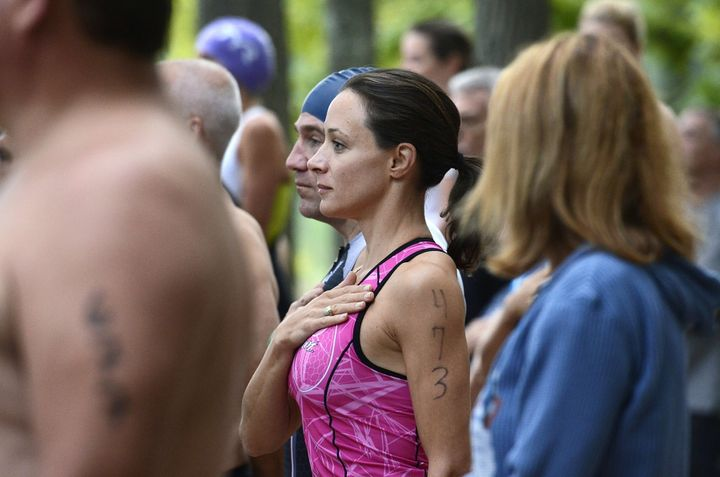 Paula Broadwell, pictured here in 2013, just wants the same opportunity to bounce back that Gen. David Petraeus has been give