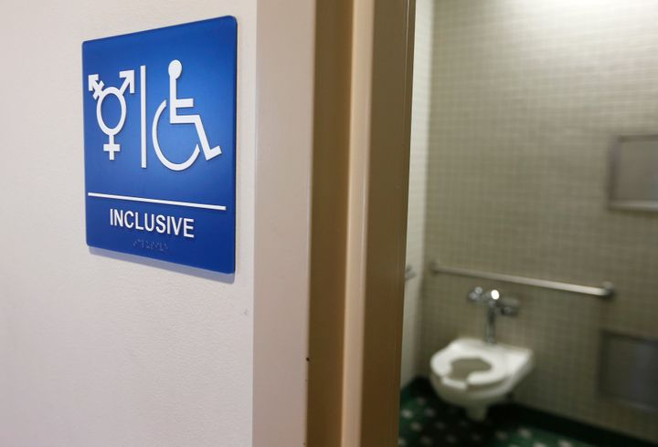 The findings by the National Center for Transgender Equality on public restrooms counter the message of mainly conservative p