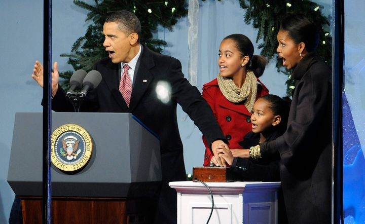 President Barack Obama prioritized family dinners when he first arrived at the White House with his wife and two young daughters.