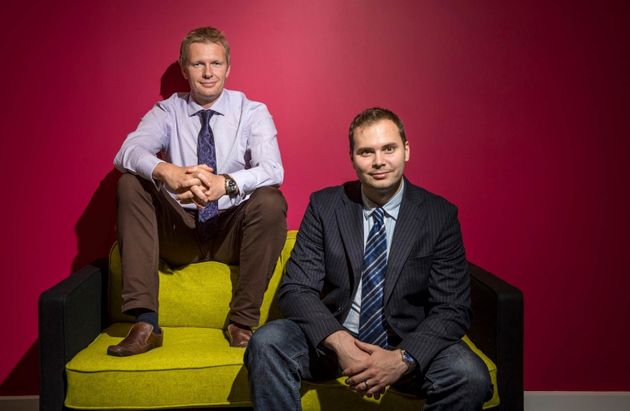 Tom Jackson and Martin Sykora of Loughborough University'sSchool of Business and