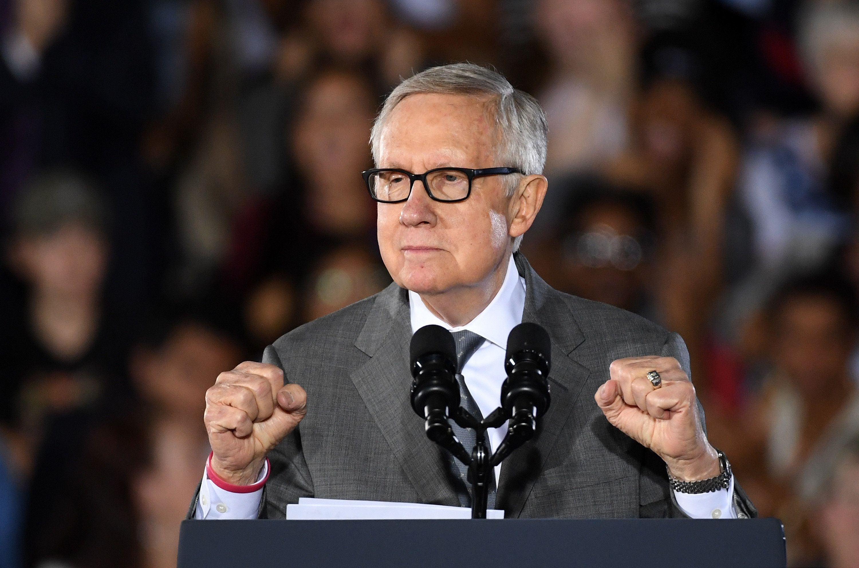 Sen. Harry Reid (D-Nev.), the outgoing Senate Minority Leader, is proud that he made it easier to confirm federal judges and