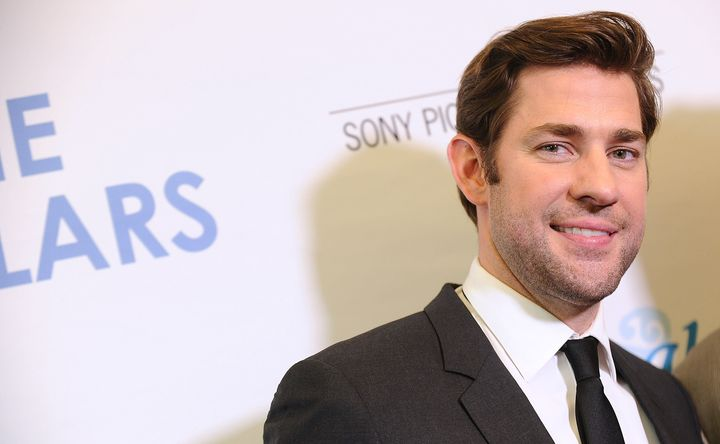 """John Krasinski says """"there's no perfection"""" in parenting."""