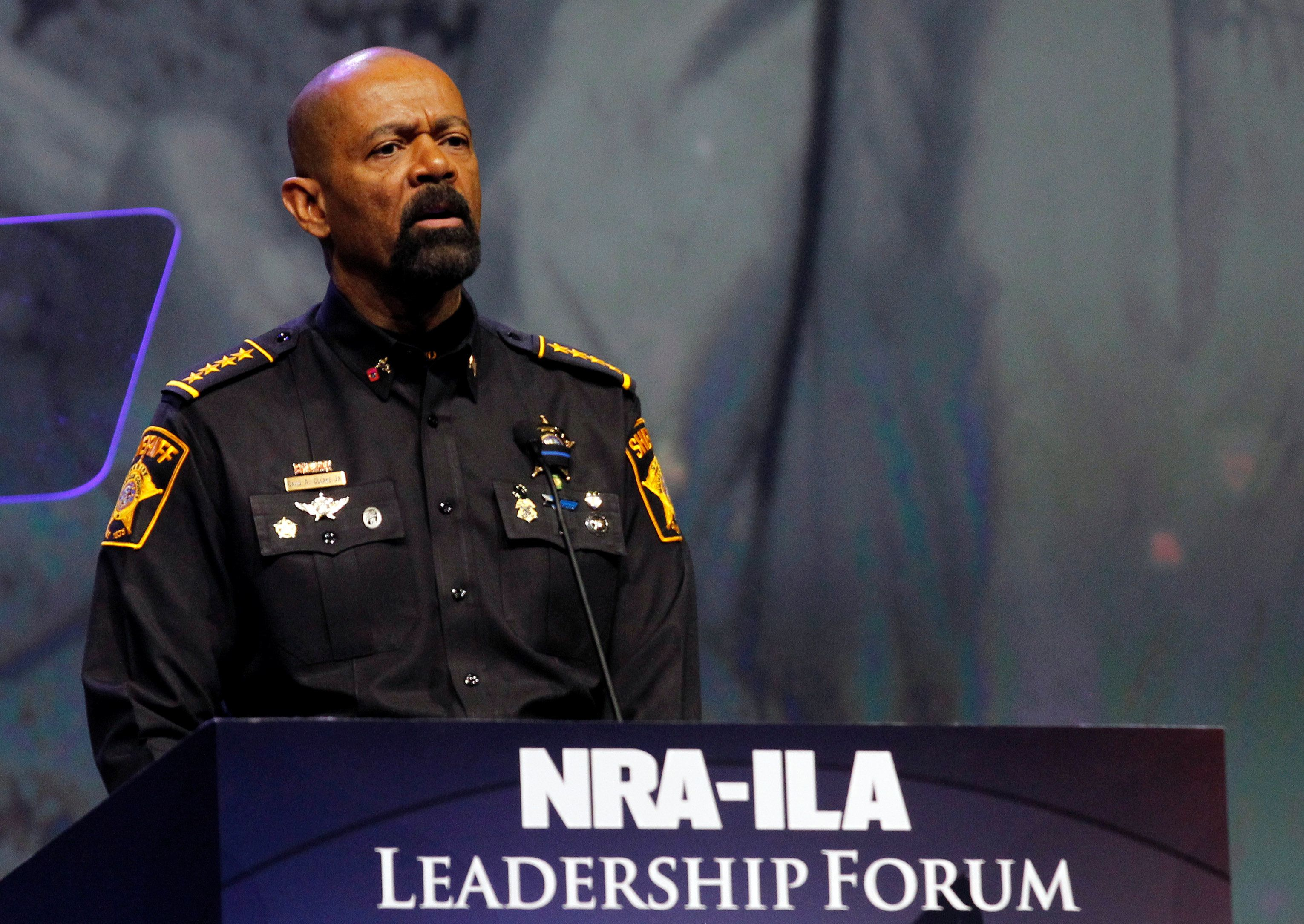 Image result for photos of sheriff david clarke