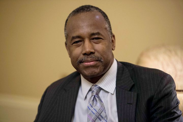 Ben Carson, the retired neurosurgeon who Donald Trump decided to nominate as HUD secretary.