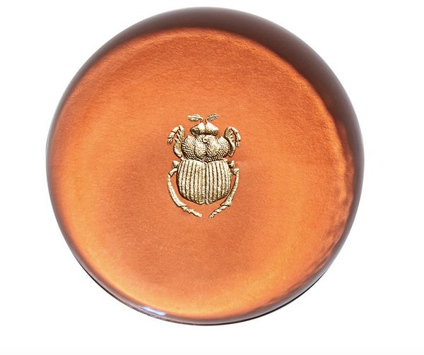 "Connor paperweight, $85, <a href=""http://www.barneys.com/product/connor-scarab-paperweight-504724841.html"" target=""_blank"">Ba"