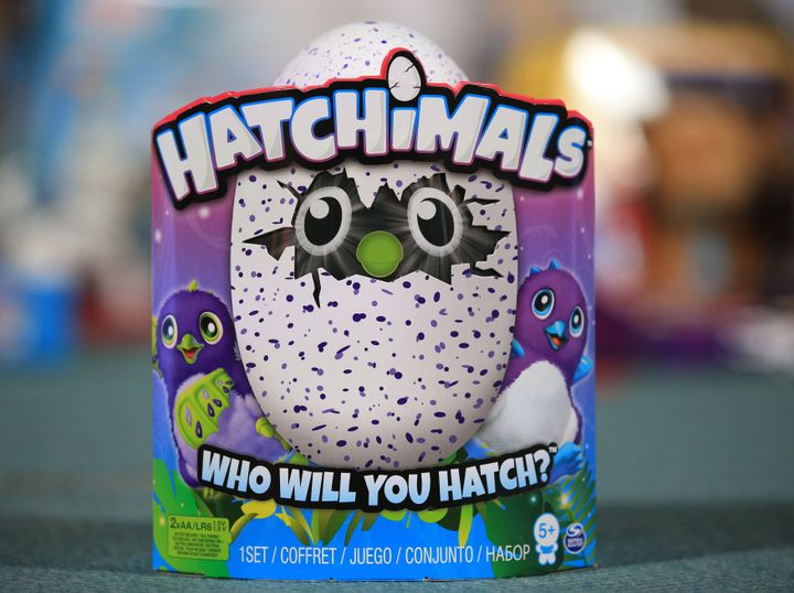 Hatchimals are one of this season's most sought-after toy for children.