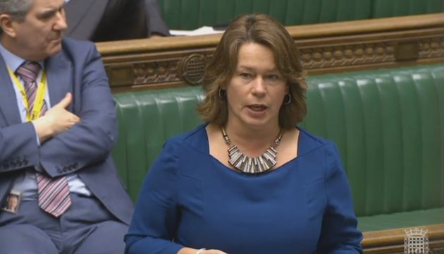 Michelle Thomson addressing the House of
