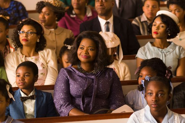 """Octavia Spencer is the beating heart of """"Hidden Figures,"""" even with Taraji P. Henson playing the ensemble's lead fiddle.&nbsp"""
