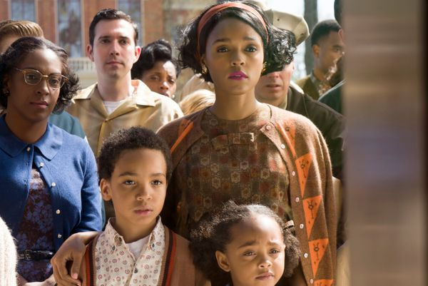"""Like several candidates, Janelle Monáe has two movies in the running. Her """"Moonlight"""" role is small, but in """"Hidden Fi"""
