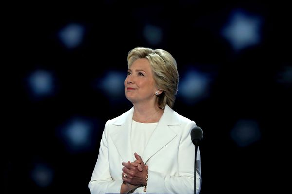 Yes, we know how it ended. She lost. But in July, Clinton became the first woman in this country's history to be nominated fo