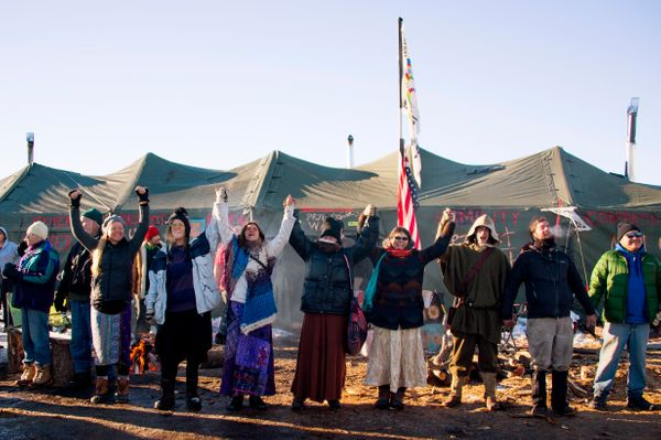 """Over the months of demonstrations at&nbsp;the Sacred Stone Camp in North Dakota,&nbsp;progressive&nbsp;<a href=""""http://episco"""