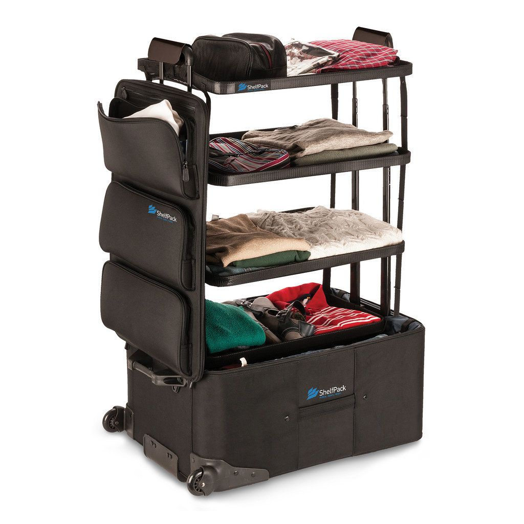 Merveilleux This Clever Suitcase Is Basically A Closet On Wheels