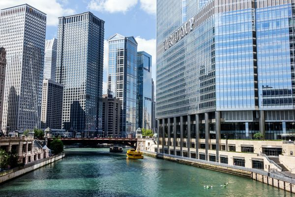"<a href=""http://www.cloud9living.com/chicago/architectural-kayak-tour"" target=""_blank"">Take an architectural kayak tour down"