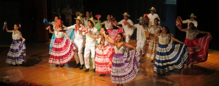 Grupo Folklorico performs during a trip to Canada. The organization has canceled a trip to the U.S.due to concerns over
