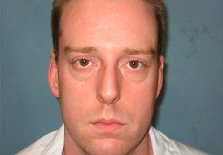 Death row inmate Ronald Bert Smith Jr., scheduled to be executed December 7, 2016, is seen in an undated picture released by