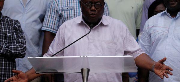 Ghana's Opposition Leader Wins Presidential Election