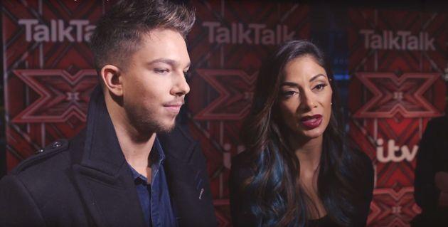 Matt Terry and Nicole Scherzinger chatted to HuffPost