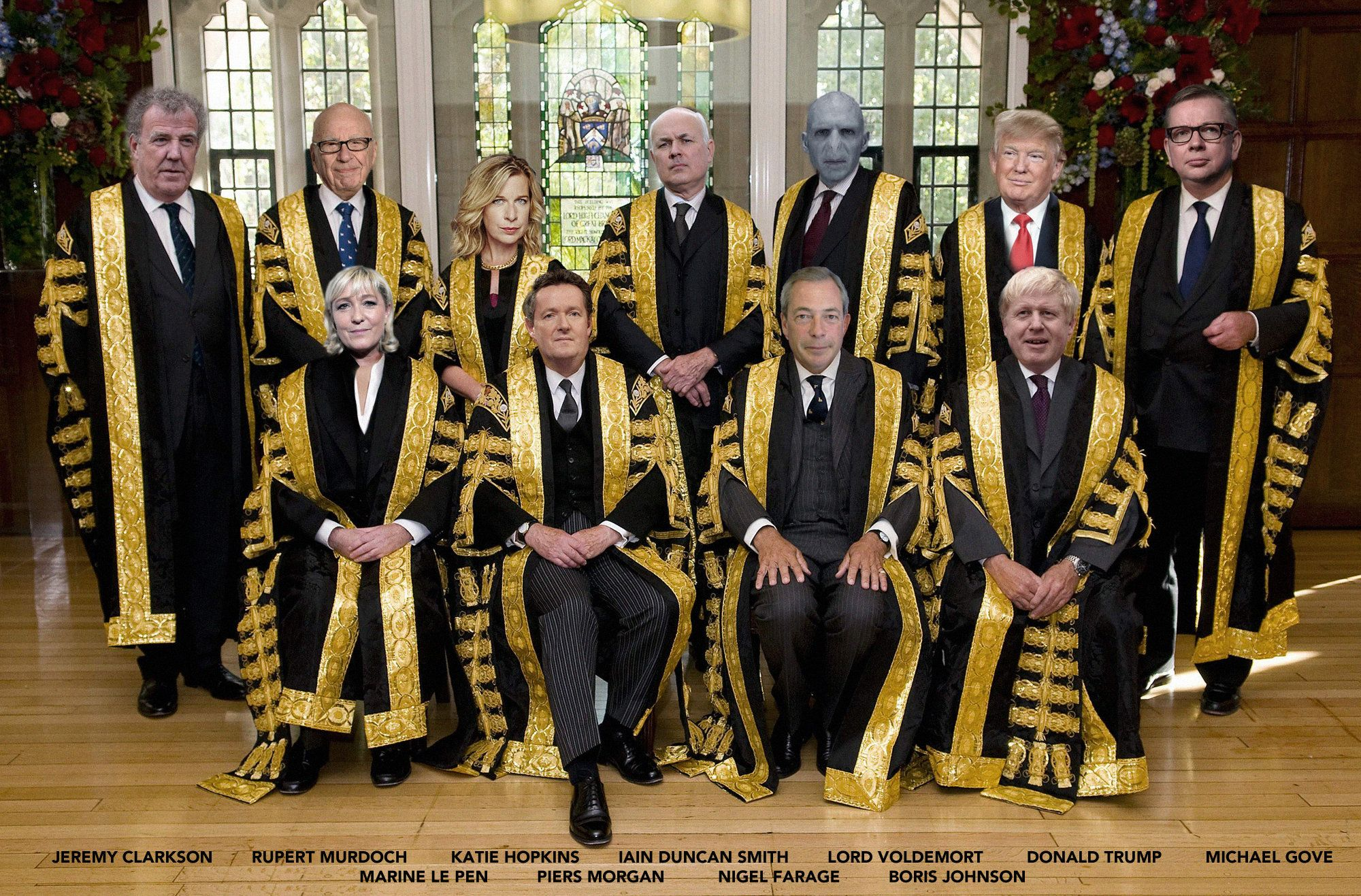 REVEALED: Tabloid Newspapers Unveil New Panel Of Judges For Fresh Brexit