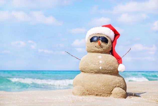 An overly optimistic portrait of Britain's mini winter heatwave (file