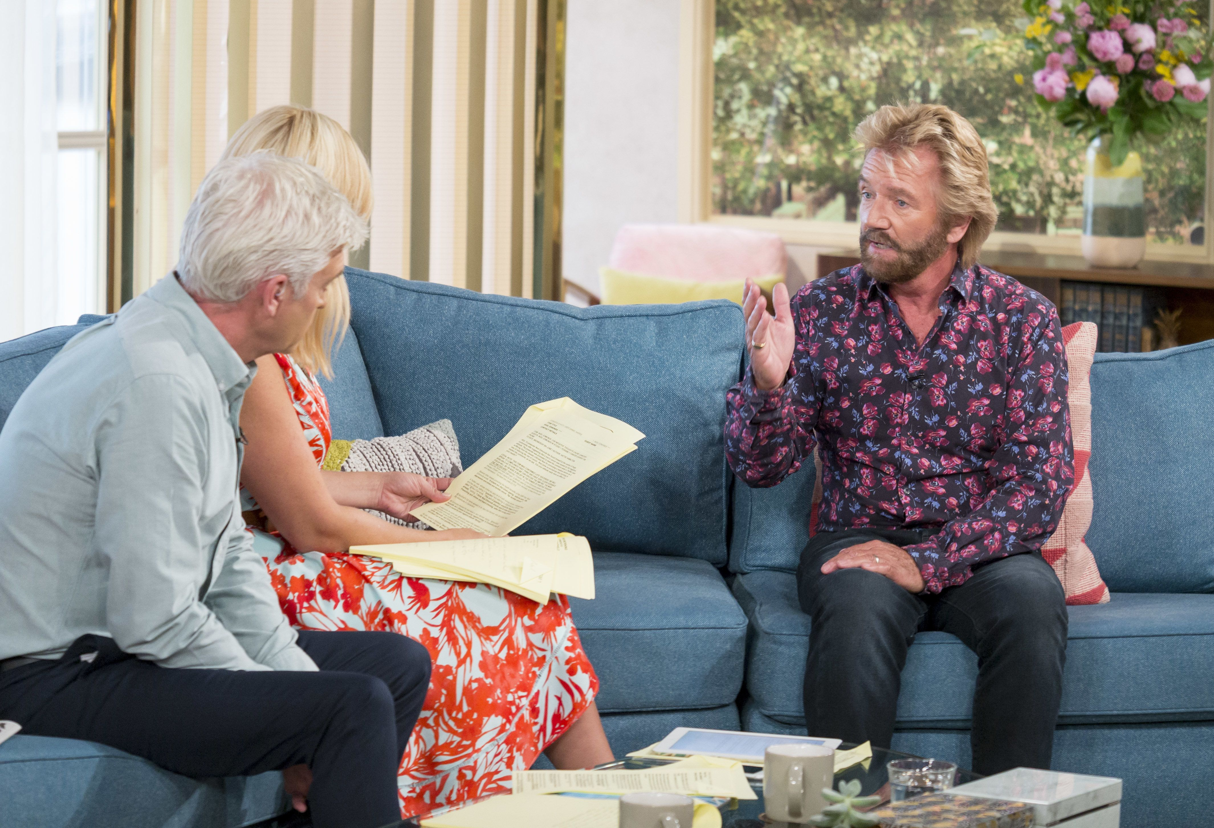 Noel Edmonds Reignites Phillip Schofield Feud, Months After 'This Morning' Clash