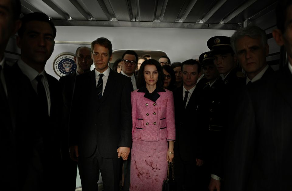"""Like the Academy, theHFPA likes its biopics broad and inspiring. """"Jackie,"""" in which Natalie Portman plays the newly wid"""