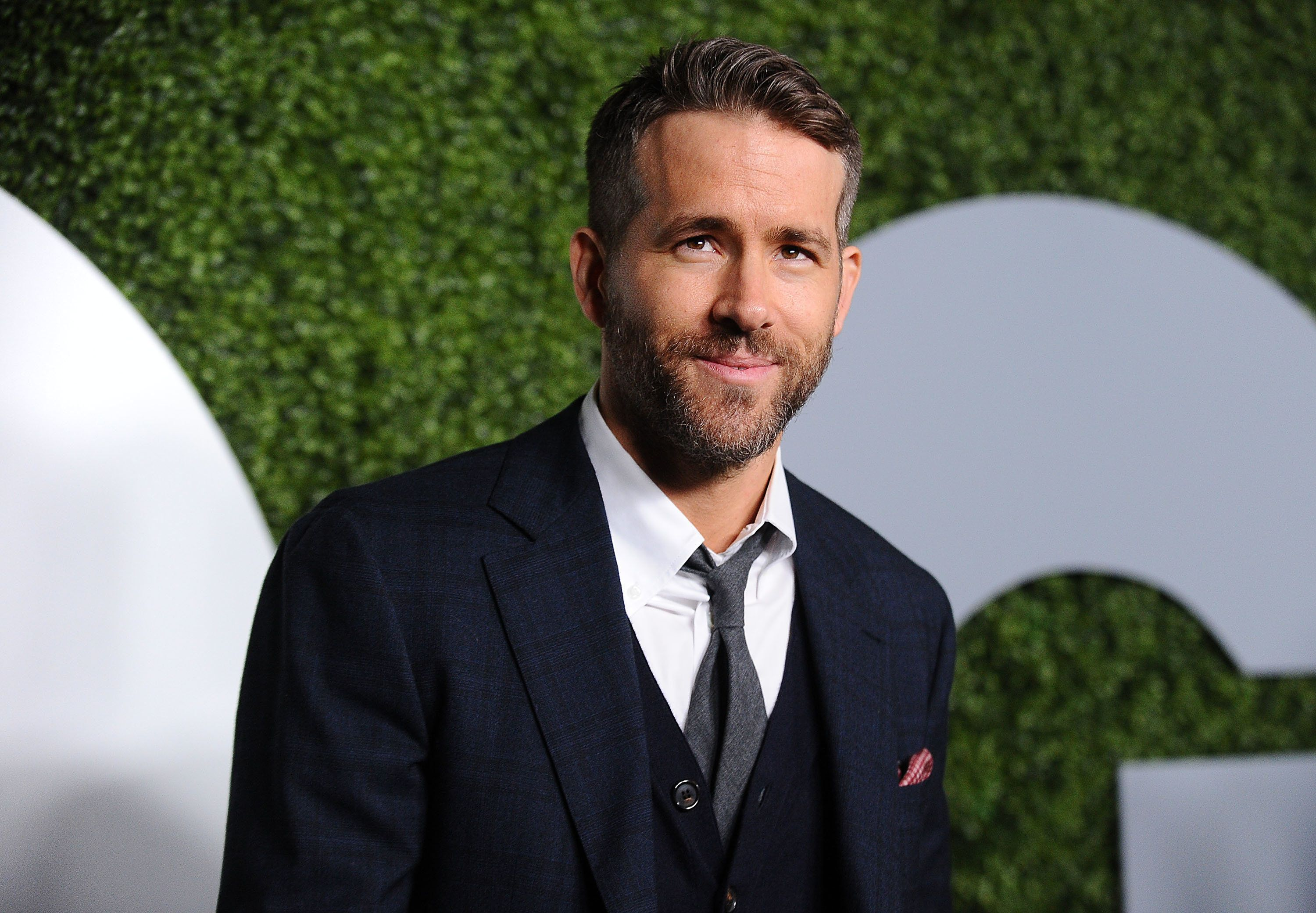 Ryan Reynolds pictured on Dec.
