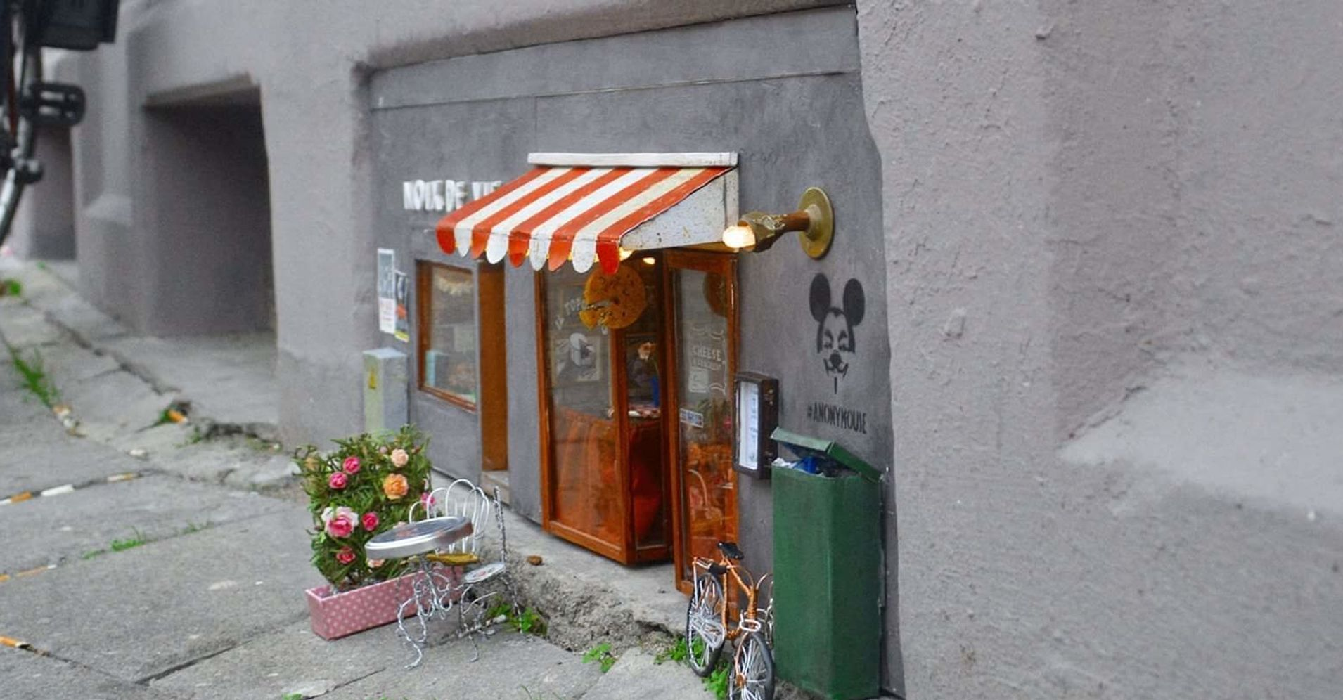 Blue Ribbon Bakery Kitchen Tiny Magical Shops For Mice Are Popping Up In Sweden Huffpost