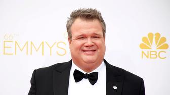 """Eric Stonestreet from ABC's series """"Modern Family"""" arrives at the 66th Primetime Emmy Awards in Los Angeles, California August 25, 2014.  REUTERS/Lucy Nicholson (UNITED STATES -Tags: ENTERTAINMENT)(EMMYS-ARRIVALS)"""