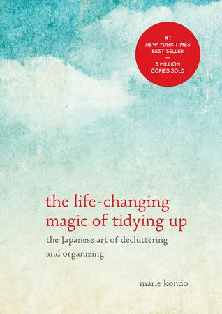 Address the issue straight on with tips to declutter and organize your space. <br><br>Marie Kondo's<strong>The Life-Cha