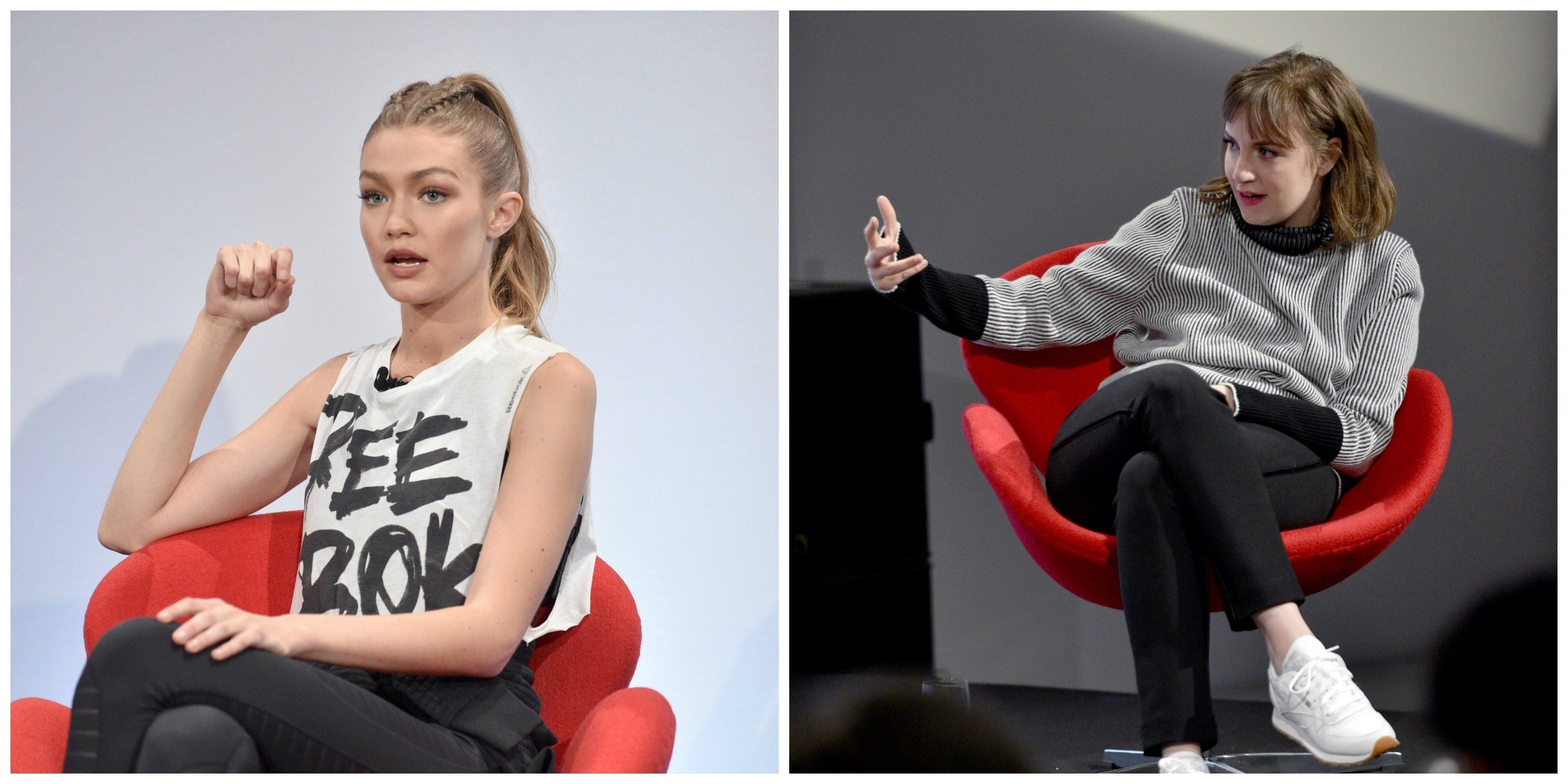 Allow Gigi Hadid and Lena Dunham offer some real talk on mental health.