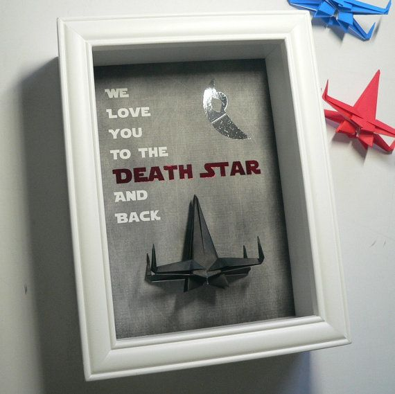 """$39.00, The Center Fold. <a href=""""https://www.etsy.com/listing/288581043/star-wars-father-gift-from-kids?ga_order=most_releva"""