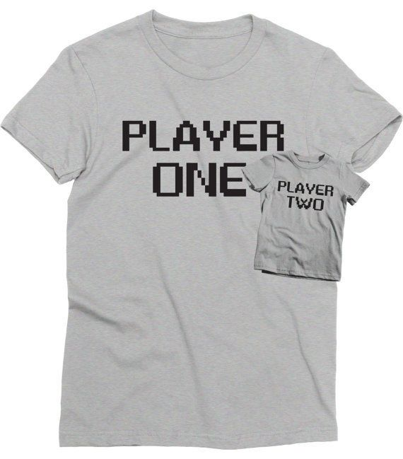 """$32.00 (for both), Thinked Ink. <a href=""""https://www.etsy.com/listing/271731698/player-one-player-two-matching-shirts-t?ga_or"""