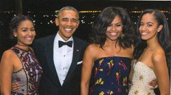 Obamas Send Out Their Last Christmas Card From The White