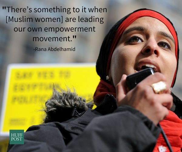 The multi-talented Rana Abdelhamid, founder of the Women's Initiative for Self-Empowerment, has dedicated her life