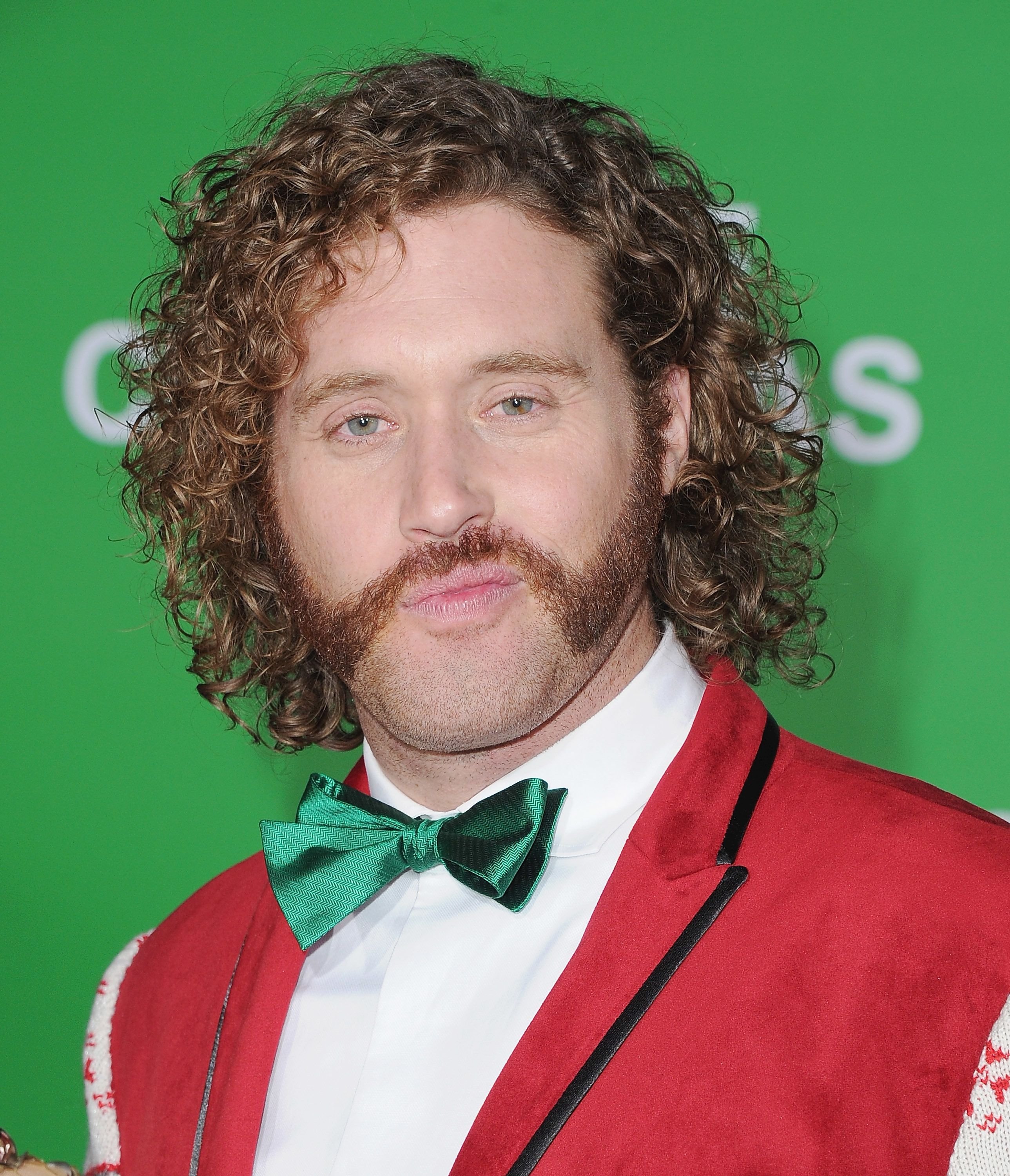 WESTWOOD, CA - DECEMBER 07:  Actor T.J. Miller arrives at the Los Angeles Premiere 'Office Christmas Party' at Regency Village Theatre on December 7, 2016 in Westwood, California.  (Photo by Jon Kopaloff/FilmMagic)