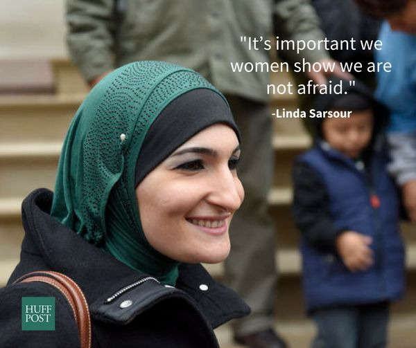 "Prominent Muslim activist Linda Sarsour was invited to be one of three women co-chairing the <a href=""https://www.facebo"