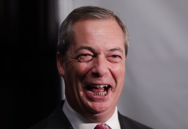 Farage said he was 'having a great time' since quitting as Ukip