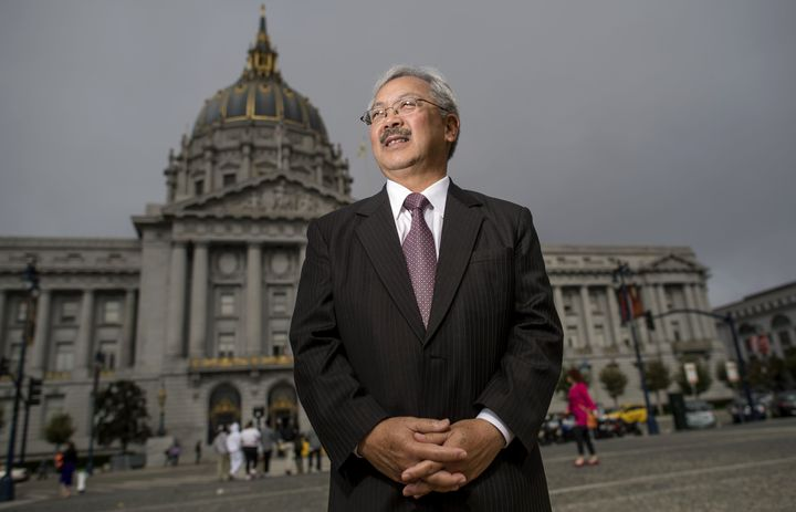 San Francisco Mayor Ed Lee vetoed an attempt to crack down on short-term rentals.