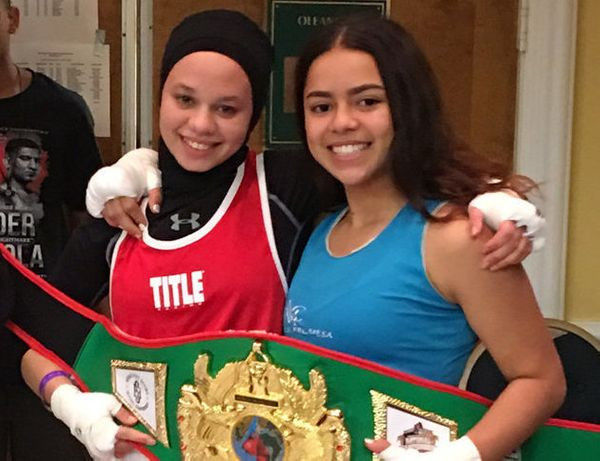 Sixteen-year-old amateur boxer Amaiya Zafar has never gotten the chance to fight in an official competition. She's a Mu