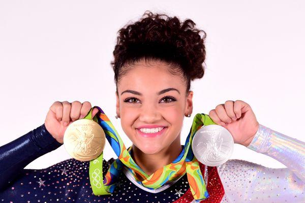 "Laurie Hernandez <a href=""https://www.huffpost.com/entry/laurie-hernandez-olympics-rio-gymnastics_n_57b1e2b5e4b0718404120a94"""