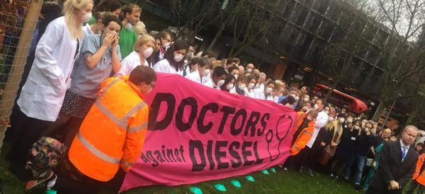 Doctors Urge Sadiq Khan To Ban Diesel Vehicles From London