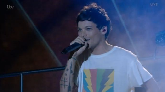 Louis Tomlinson Pays Tribute To Late Mother With Emotional 'X Factor'
