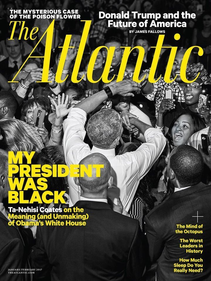 The Atlantic magazine has hired a slew of high-profile writers since Donald Trump's election.