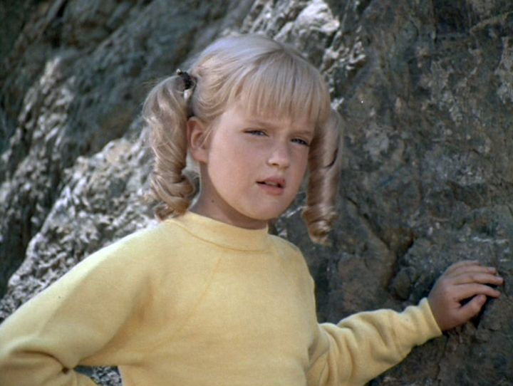 Susan Olsen playing the ever-adorable Cindy Brady in 1971.