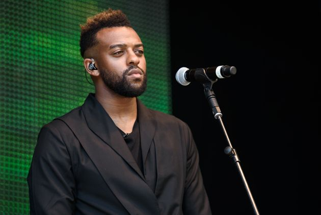 Oritsé Williams on stage at Wireless Festival in