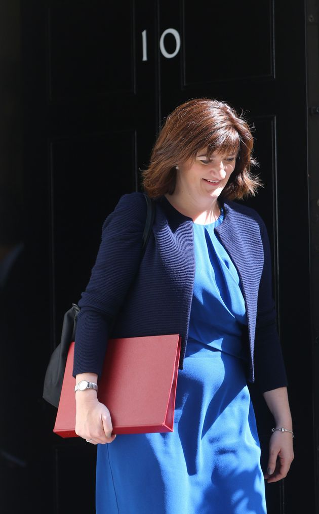 A bitter spat erupted between a top aide to Theresa May and Nicky Morganafter the former Cabinet minister...